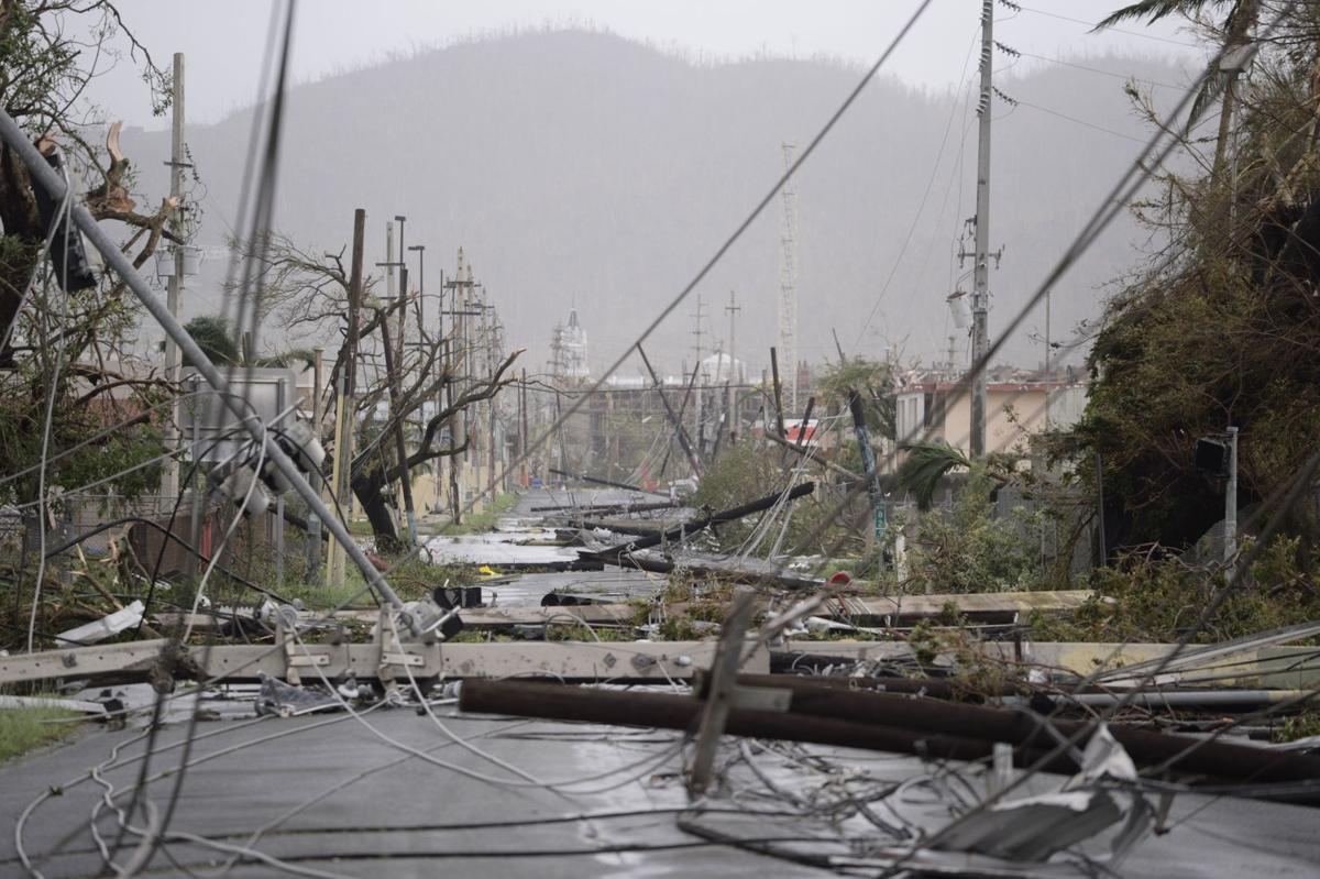 Puerto Rico hurricane damage