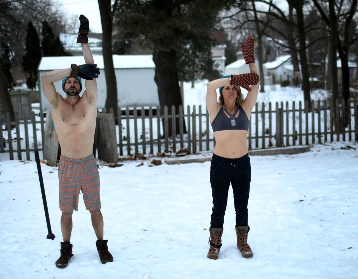 Biohackers  in the snow