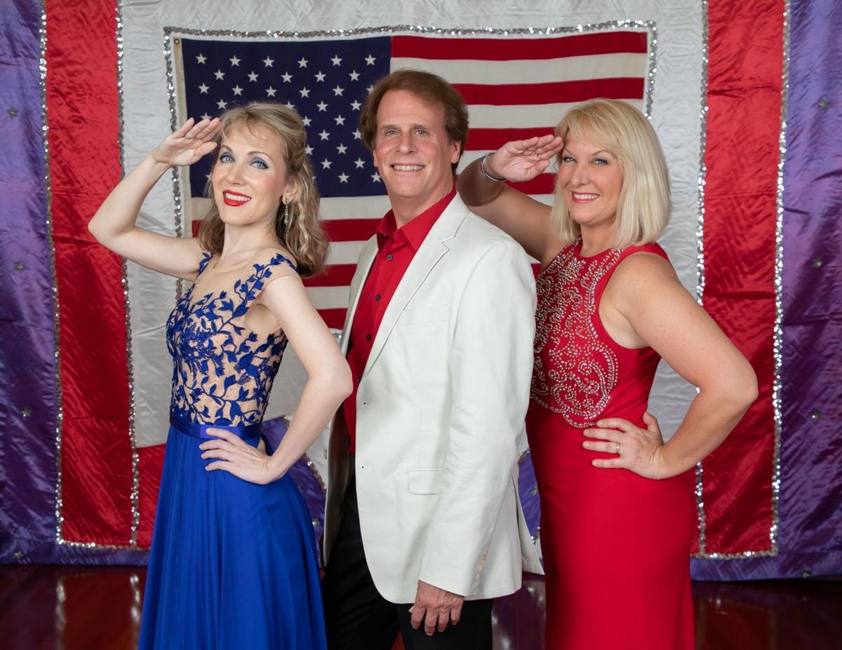 Gurl presents patriotic salute to veterans