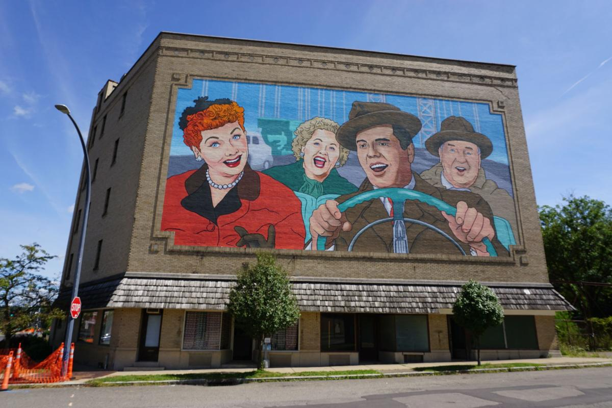 I Love Lucy Mural