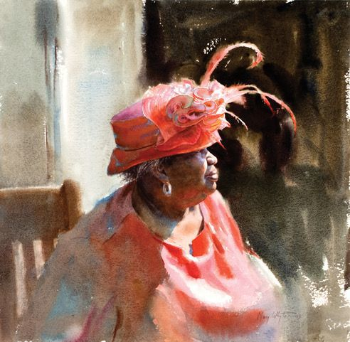 Renowned watercolor portrait artist, author and educator Mary Whyte to discuss her life's work and her artistic journey