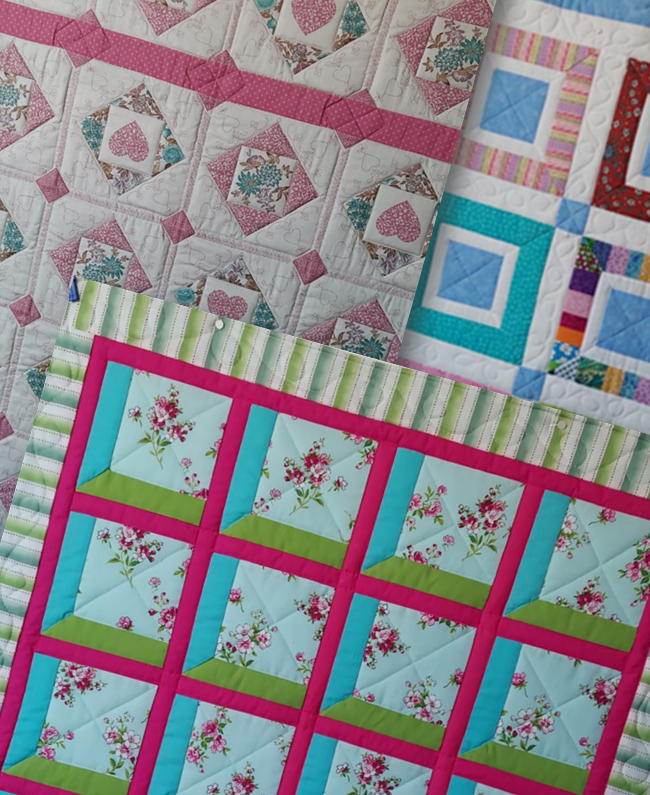 Quilts for refugees