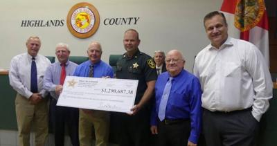 Sheriff Paul Blackman gives $1.3 M back to the county