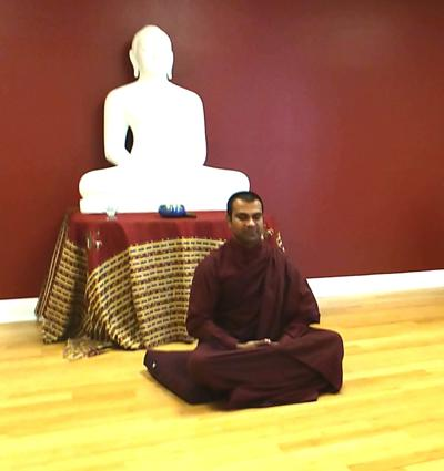Bhante Chan is the spiritual leader of the Blue Lotus Meditation Center