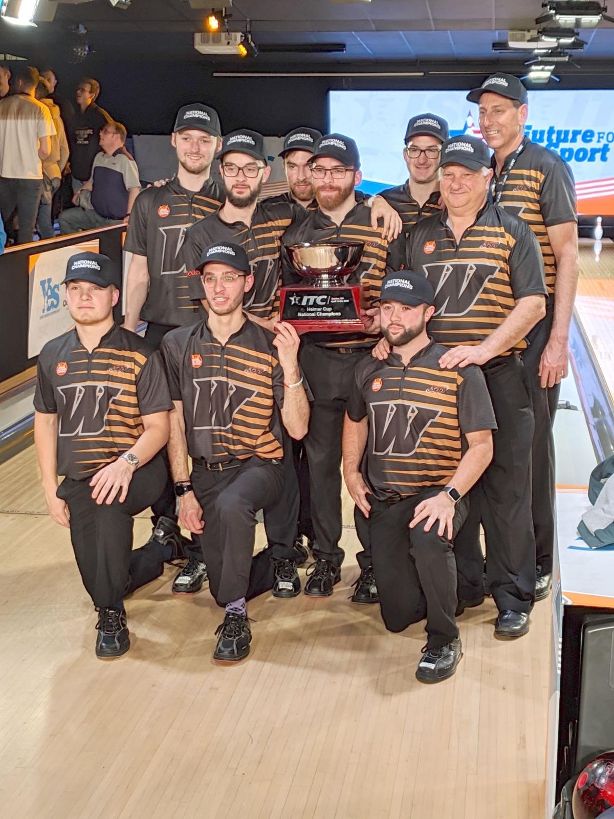 Webber men's bowling