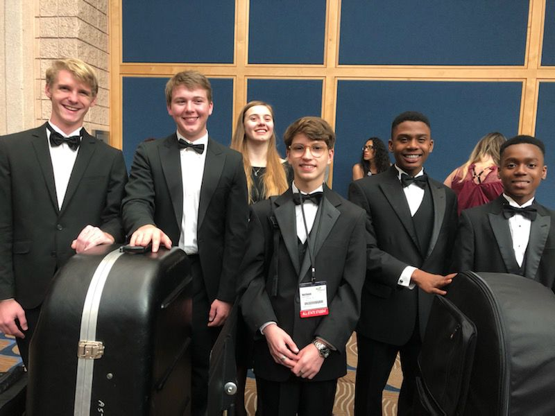 All state band members