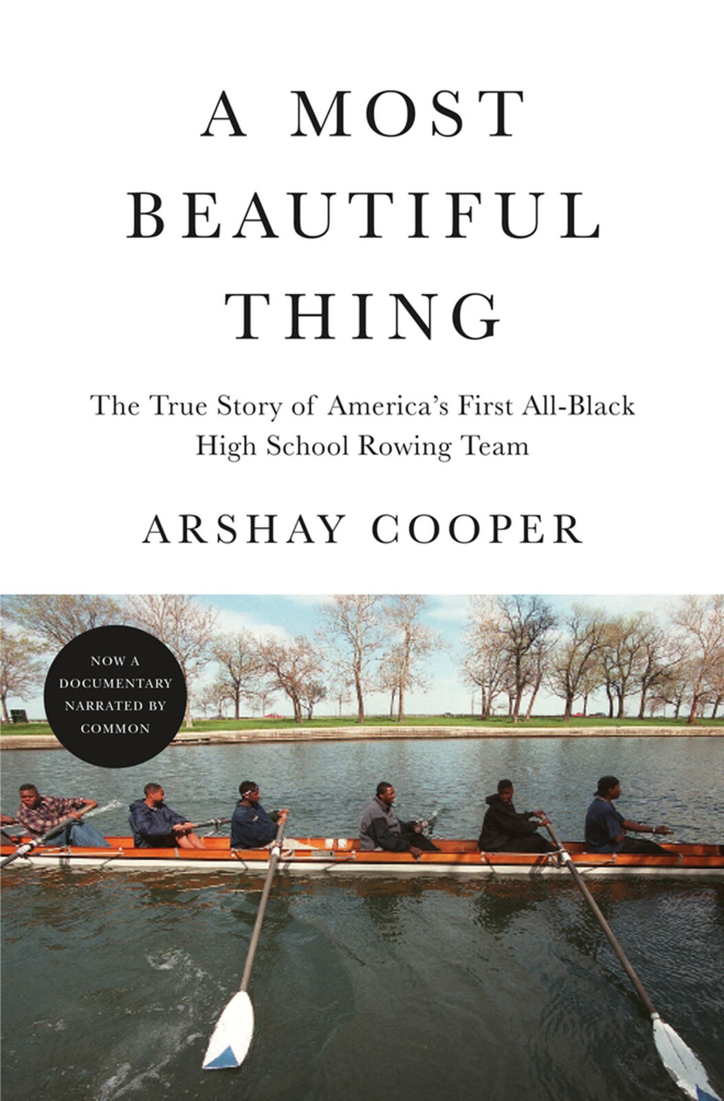 """The book """"A Most Beautiful Thing"""""""