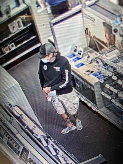 Best Buy theft suspect