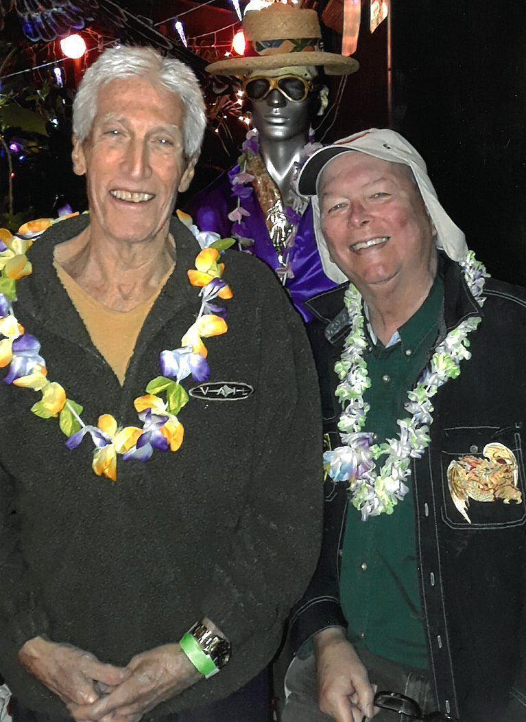 DJ's Bob Koontz and Hawaii Bob Peters