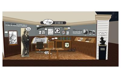 "J.N. ""Ding"" Darling National Wildlife Refuge to unveil new cartoonist studio exhibit"