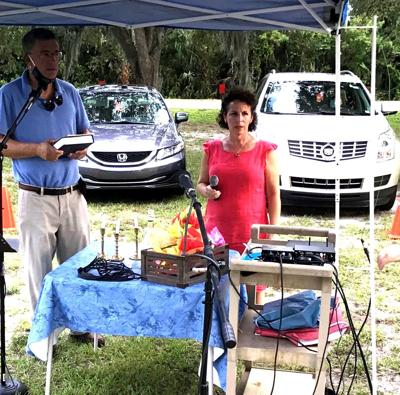 JCV holds drive-in services