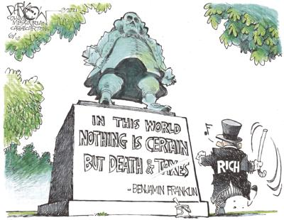 Paying no taxes