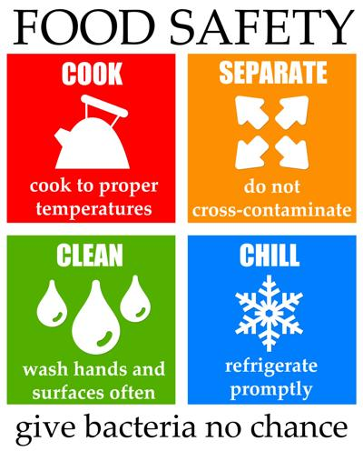 How to practice food safety at home