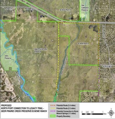 Legacy Trail map