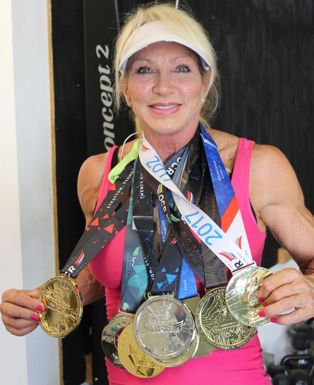 Heidi Williams- not your typical senior citizen