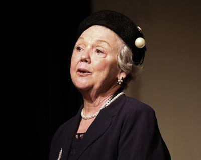 Jane VanBoskirk portrays Eleanor Roosevelt
