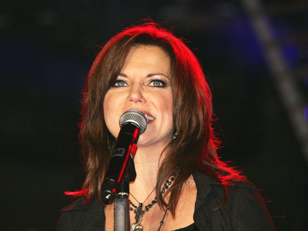 Country singer Martina McBride