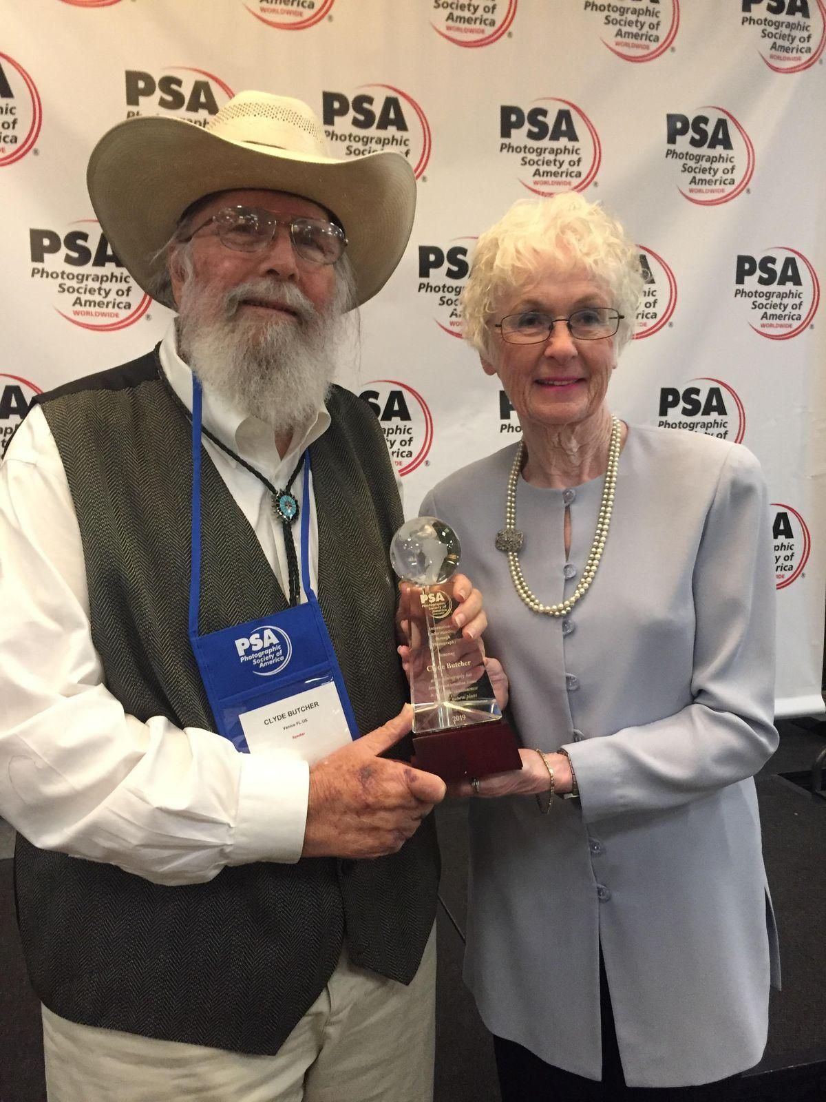Clyde Butcher honored by Photographic Society of America