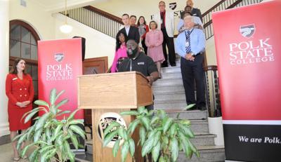 Polk State Lake Wales press conference