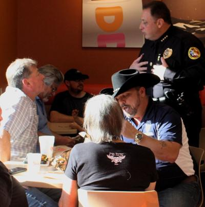 North Port hosts coffee with a cop