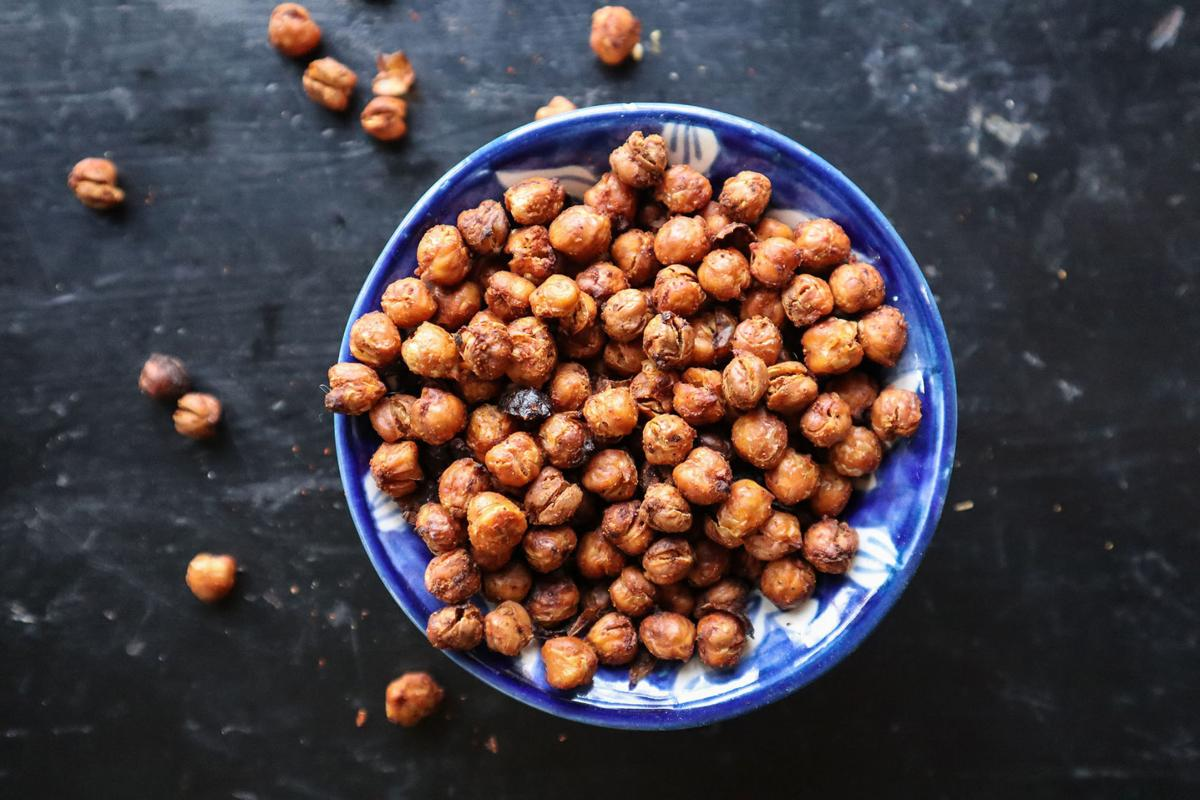 Crispy, roasted chickpeas