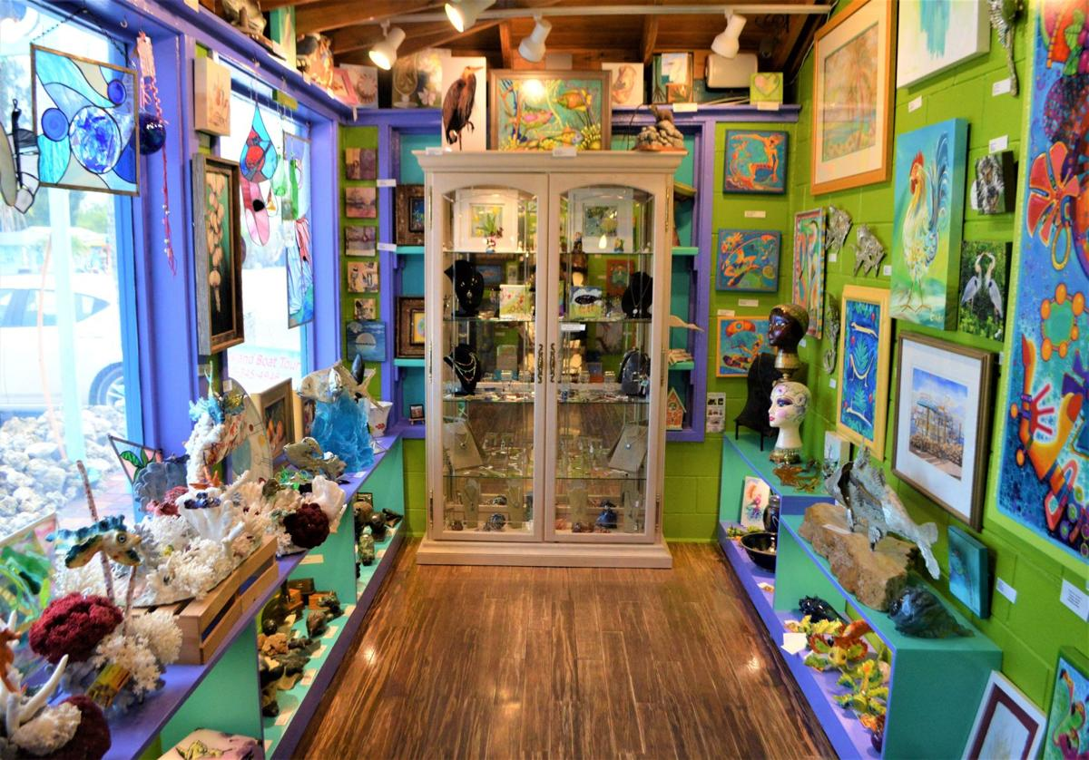 Feeling crafty at the Wild Child Art Gallery