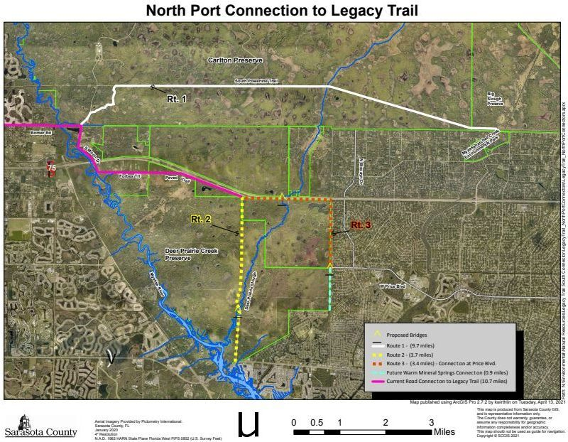 North Port's Legacy Trail