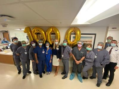 1000th robot-guided orthopedic surgery performed at Bayfront Health Port Charlotte