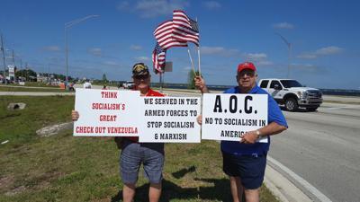 Tea Party flag wave photo