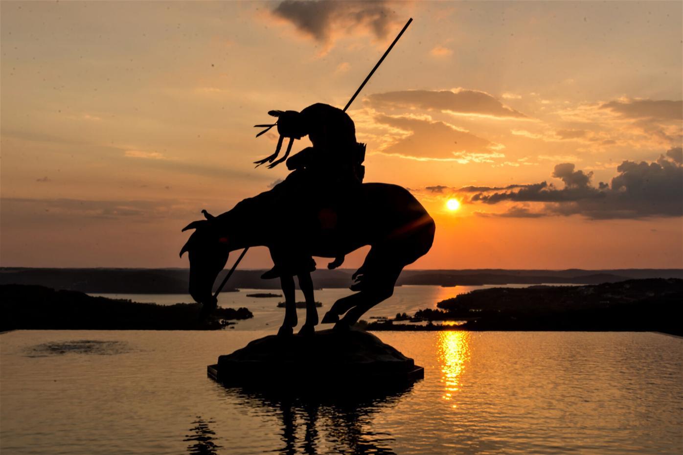 Branson Missouri at sunset