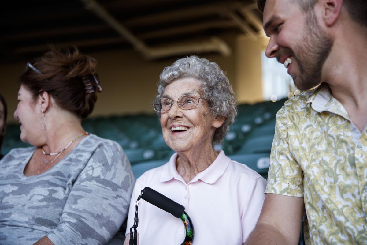 Grandma Joy and Brad in Chicago