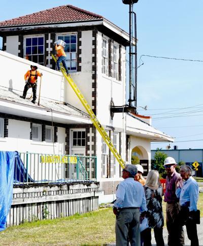 Historic Punta Gorda Train Depot restoration begins