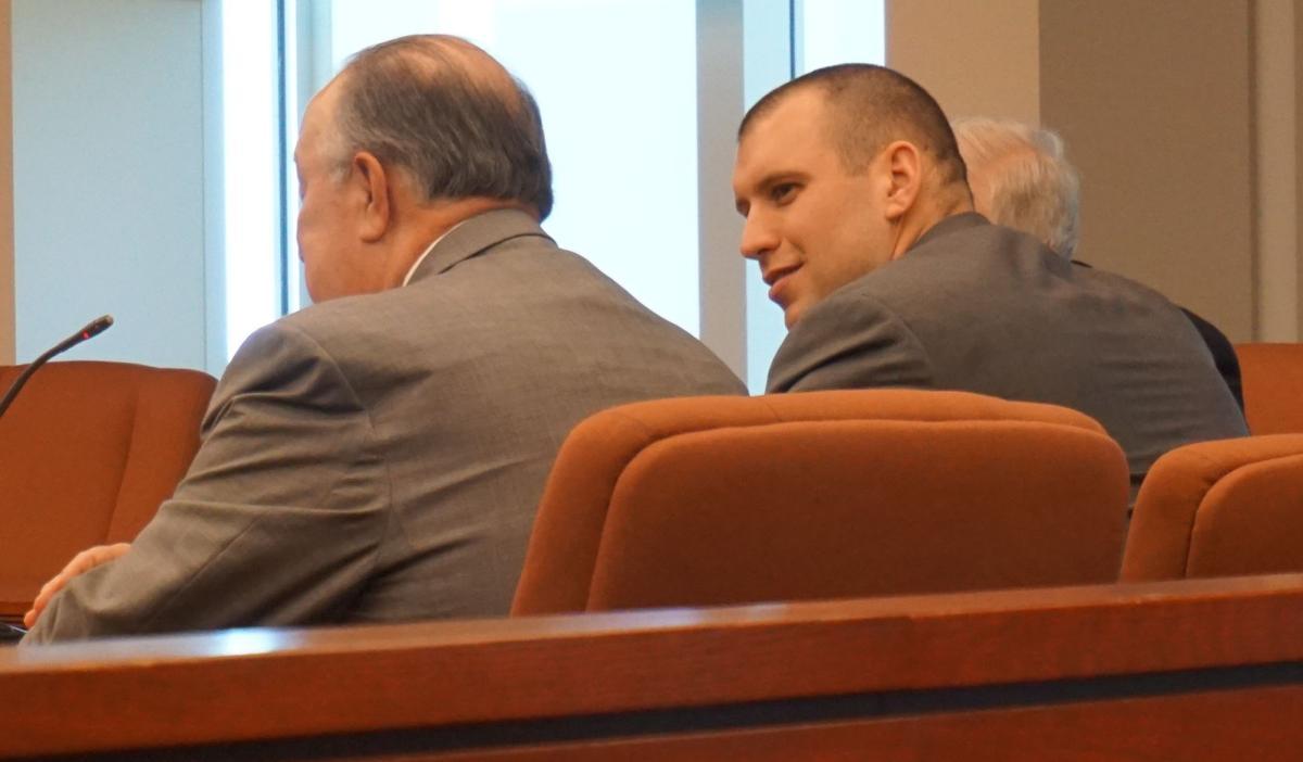 Lee Coel at pre-trial conference
