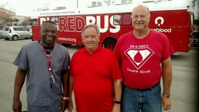 OneBlood team member saves man having a heart attack at the gym