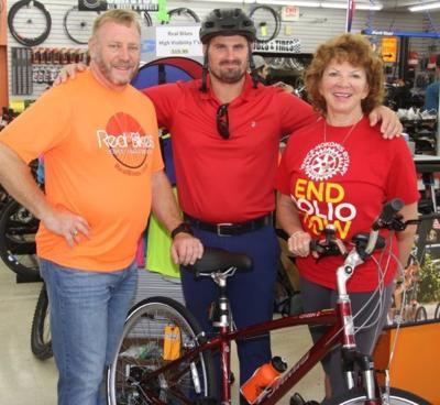 Rotary Polio ride winner