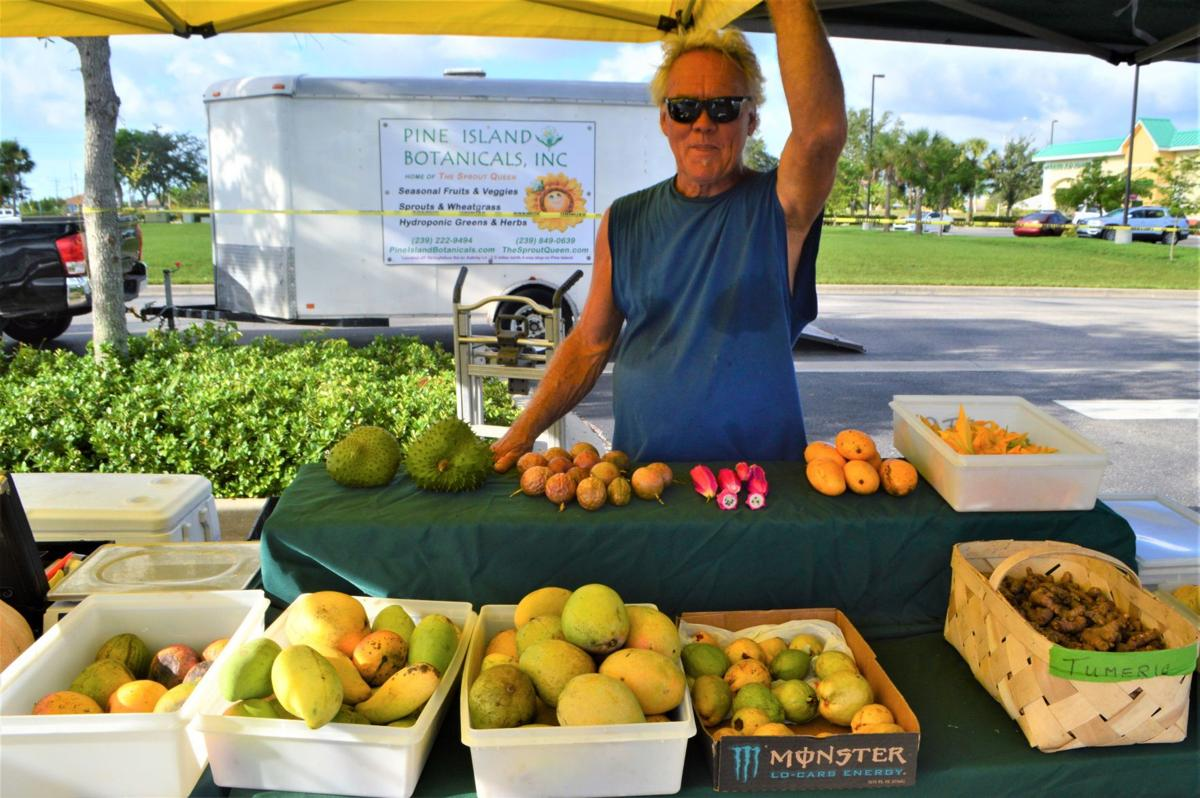 Meeting the locals at the Surfside Sunshine Market