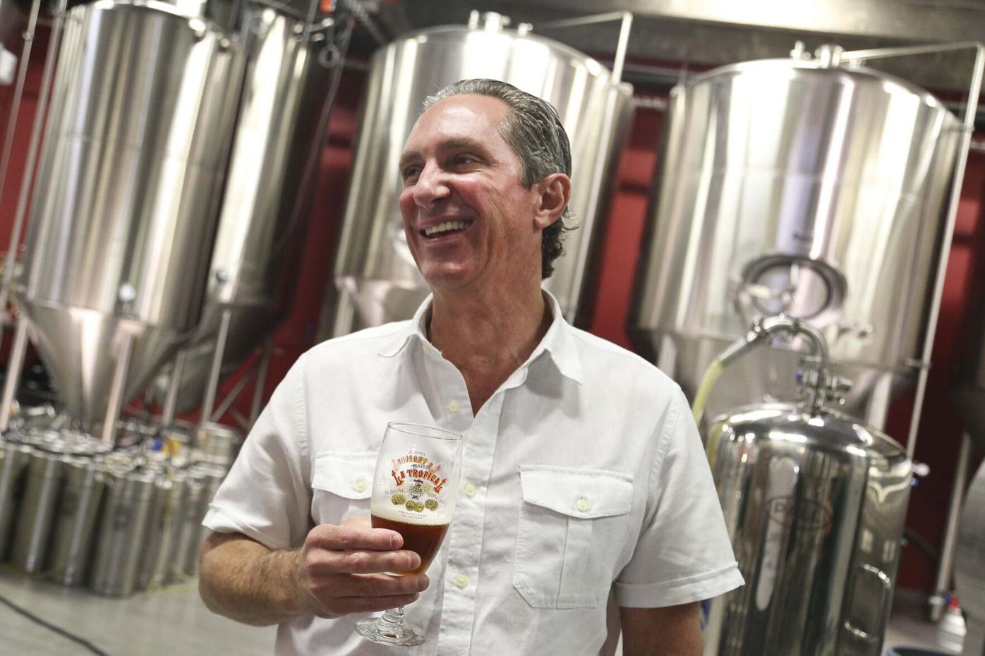 Manuel Portuondo at Concrete Beach Brewery