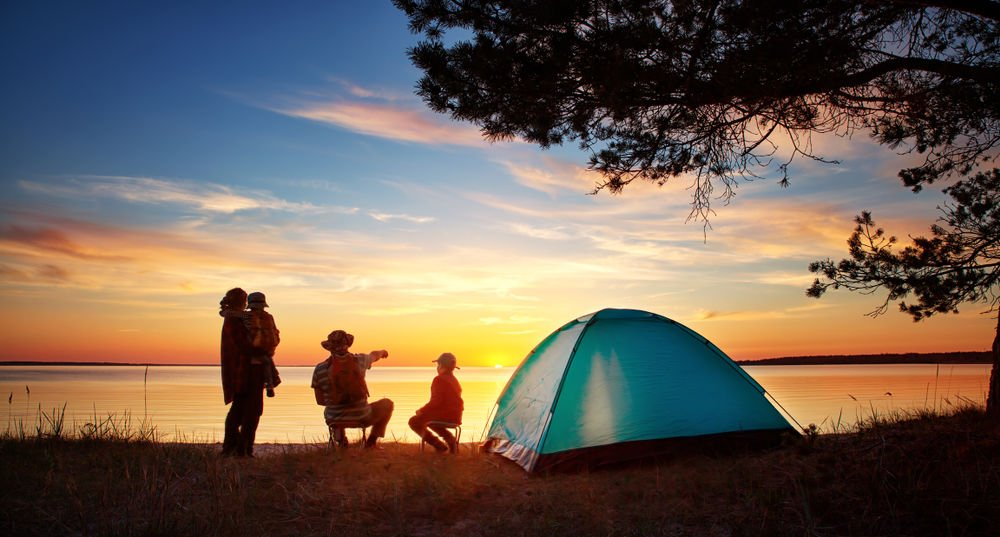 Take the family camping