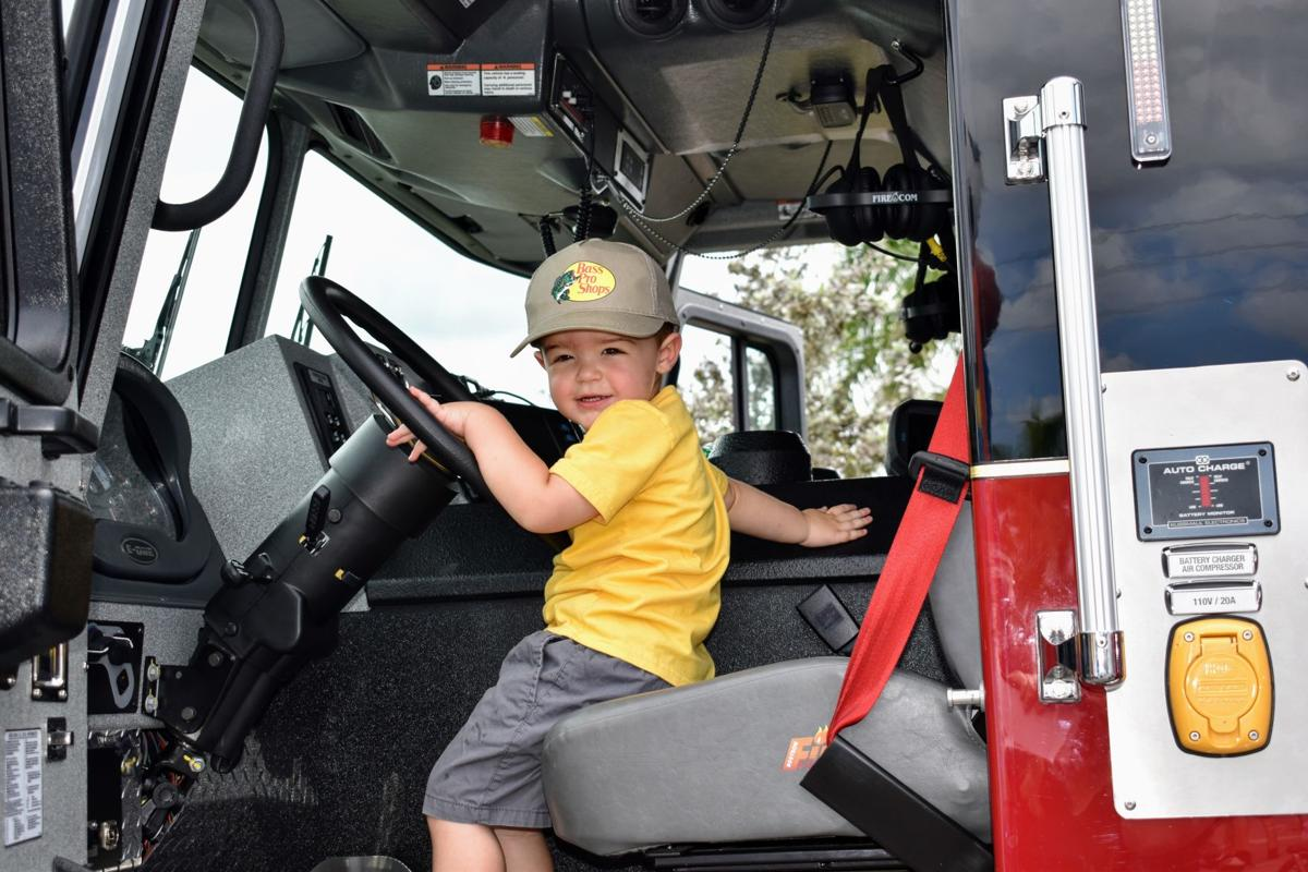 The cutest firefighter ever