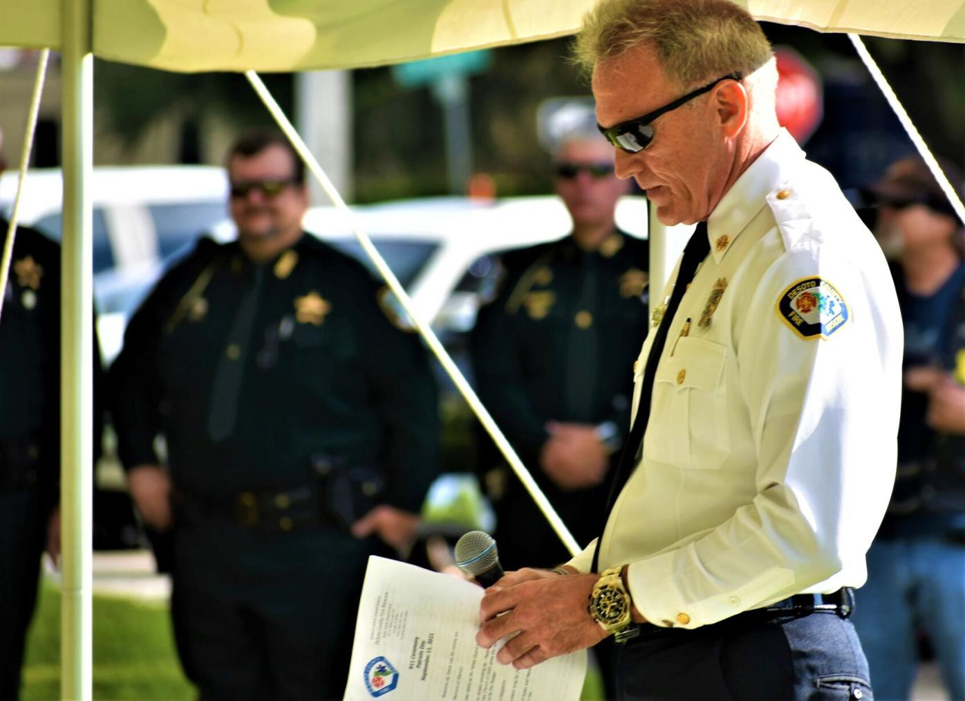 DeSoto Fire Chief Chad Jorgensen