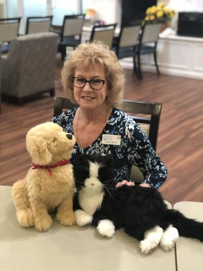 ROBOTIC PETS: The next big thing in dementia care