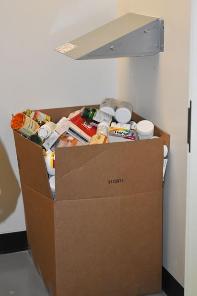 Expired medication drop off