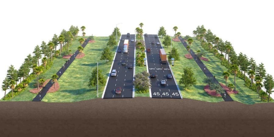 River Road design