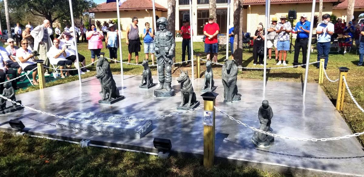 War Dog Memorial Unveiling 1