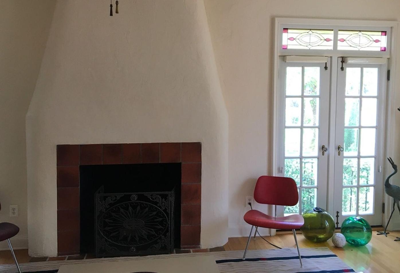 Fireplace was changed - twice