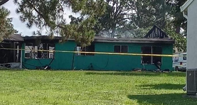 Dead person found in North Port house fire