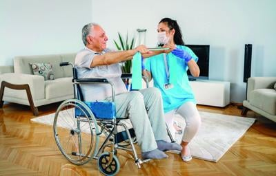 Exercise ideas for people with mobility issues