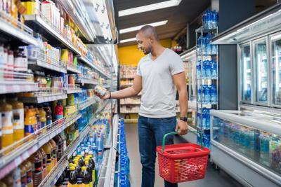 Do a little bit of shopping each week