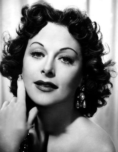 Twentieth Century Lit Club minutes, Hedy Lamarr discussed