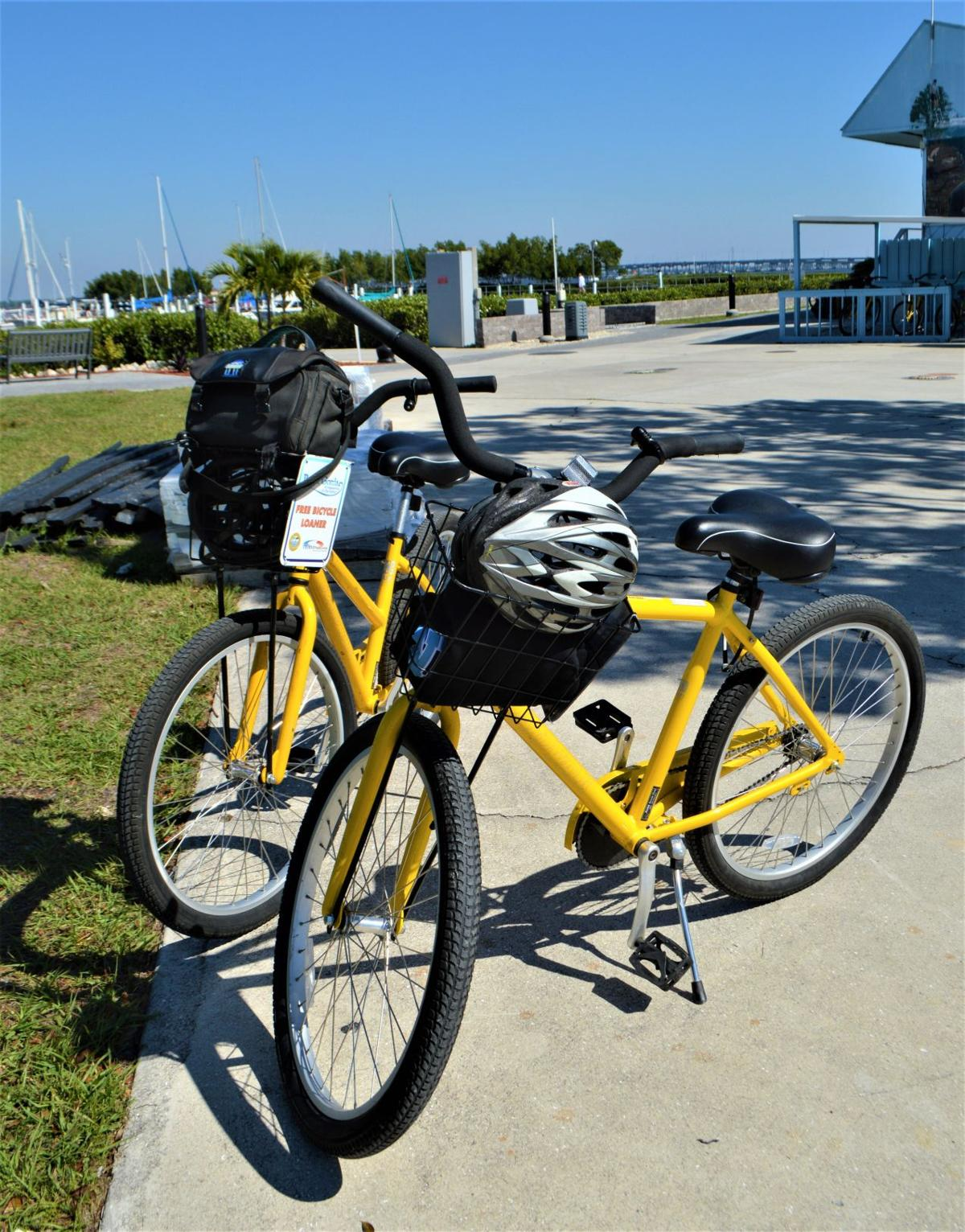 Experience Harborwalk from a bicycle